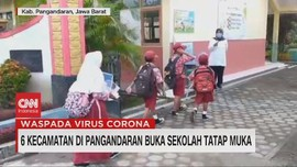 VIDEO: 6 Kecamatan di Pengandaran Buka Sekolah Tatap Muka