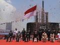 Prabowo Serahkan Kapal Selam Alugoro-405 ke TNI AL