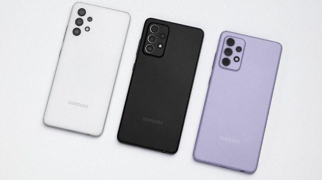 Salah satu smartphone yang bisa dibeli dengan menggunakan uang THR Lebaran adalah buatan Samsung dengan rentang harga Rp4 jutaan.