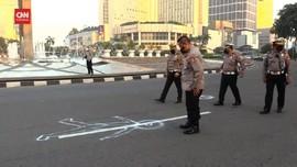 VIDEO: Polisi Gelar Olah TKP Kasus Tabrak Lari Pesepeda