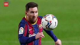VIDEO: Cetak 359 Gol, Messi Jadi Top Skorer Barcelona