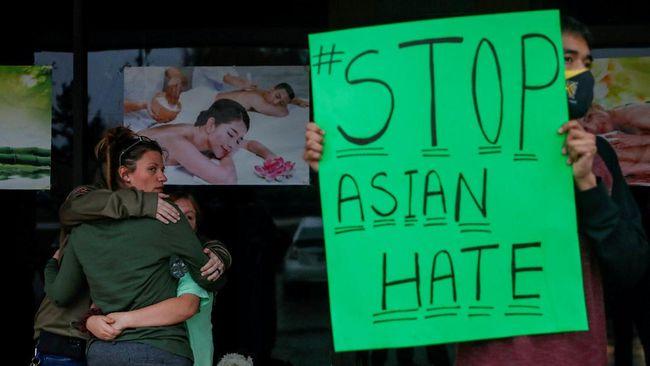Tagar #StopAsianHate dan #RacismIsNotComedy sempat menjadi trending topic Twitter Indonesia.