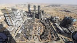 FOTO: China Bangun Ibu Kota Baru Mesir di Timur Kairo