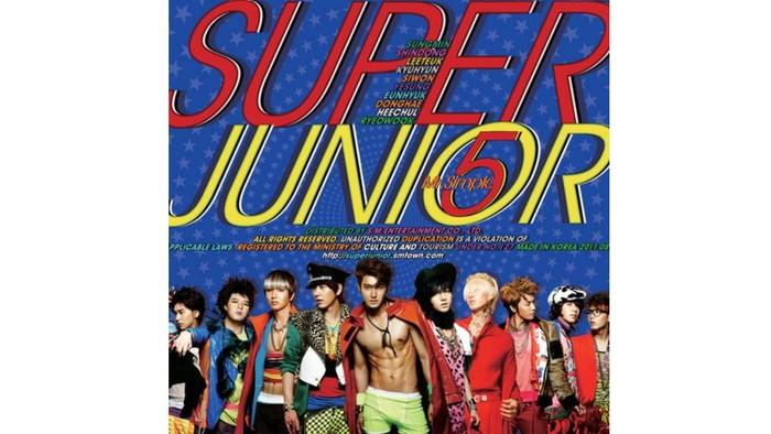 Comeback musim panas dengan album Mr Simple di tahun 2011 lalu, album ini menjadi seri terakhir dengan genre funky, khas Super Junior / foto: smtown.com