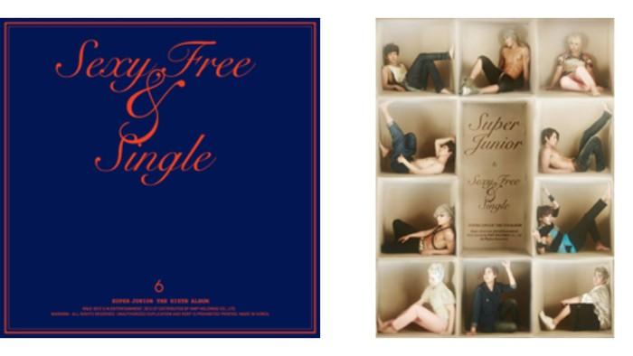 Selang 11 bulan dari Mr. Simple, Super Junior kembali dengan album bertajuk Sexy Free & Single, dan menjadi album comeback Kangin setelah selesai wajib militer / foto: smtown.com