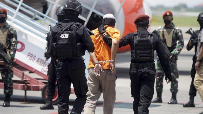Densus 88 Tangkap Enam Terduga Teroris di Jatim Selama Dua Hari