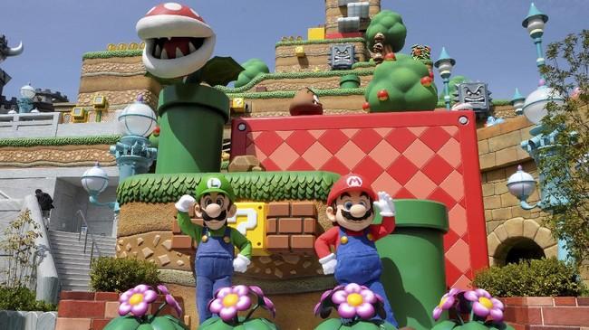 Taman hiburan Super Nintendo World akhirnya dibuka. Kini Mario Kart sampai Peach's Castle bisa disambangi di dunia nyata.