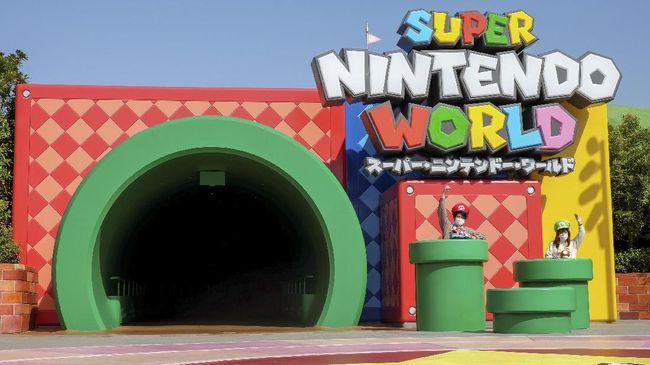 Super Nintendo World bisa dikunjungi dari Universal Studios Jepang.