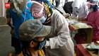VIDEO: Pedagang Pasar Di Padang Vaksinasi Tahap Kedua