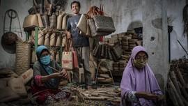 FOTO: Anyaman Loyok dari Lombok Go International