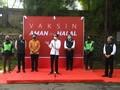 Jokowi Dukung Pos Vaksin Drive-Thru Gojek-Halodoc Diperluas