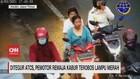 VIDEO: Ditegur ATCS, Pemotor Remaja Kabur Terobos Lampu Merah