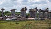 Progres pembangunan Jalan Tol Palembang-Muaraenim ruas Indralaya-Prabumulih sudah mencapai 30,4 persen dan ditargetkan rampung pada semester II 2022.