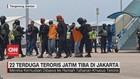 VIDEO: 22 Terduga Teroris Jatim Tiba Di Jakarta