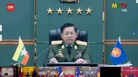 VIDEO: Pemimpin Kudeta Myanmar Muncul di Forum Internasional