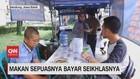 VIDEO: DI Warung Ini bisa Makan Sepuasnya Bayar Seikhlasnya