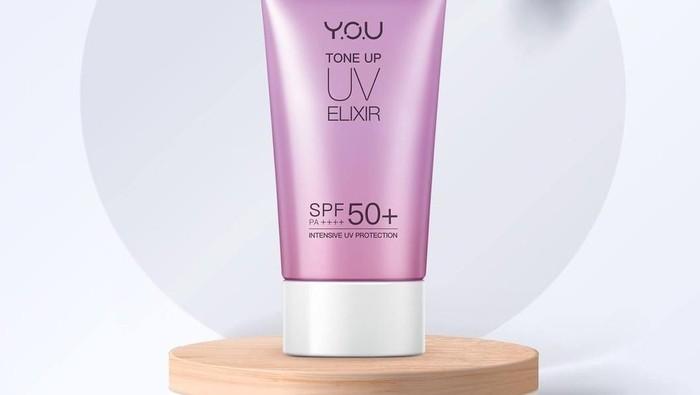 Y.O.U Tone Up Elixir, Lindungi Kulit dari Sinar UV dan Membantu Meratakan Warna Kulit