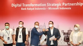 Perkuat Transformasi Digital, BRI Kolaborasi dengan Microsoft
