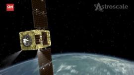 VIDEO: Astroscale Uji Teknologi Pungut Sampah Antariksa