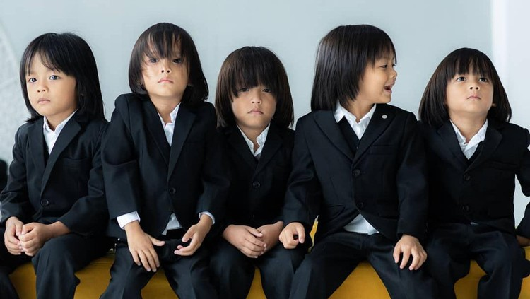 Anak kembar lima AIUEO