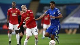 Bek Leicester Fofana Buka Puasa di Tengah Laga Liga Inggris