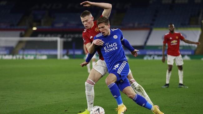 Momen Man Utd Hajar Leicester 4-1 di Old Trafford