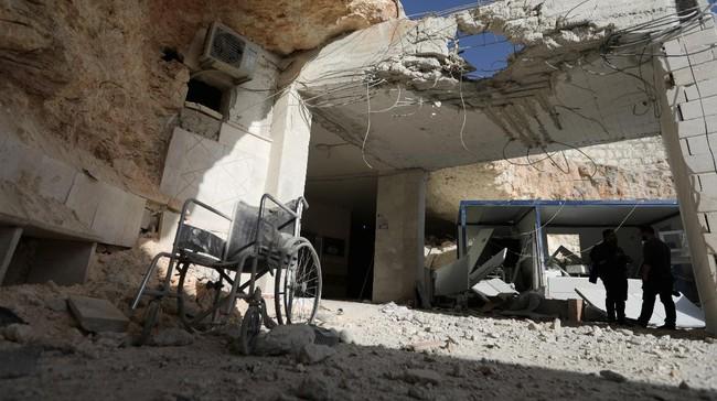 Serangan Udara Rusia Tewaskan 200 Militan di Suriah