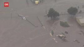 VIDEO: Banjir Parah di Australia, 18 Ribu Orang Dievakuasi