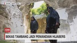 VIDEO: Bekas Tambang Jadi Pemandian Hijabers