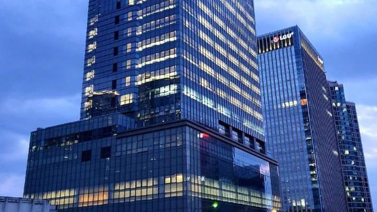 Berikut adalah potret mewahnya gedung baru Big Hit agensi BTS setelah berganti nama jadi Hybe.