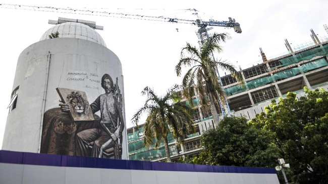 Pemprov DKI Jakarta terus mengebut pengerjaan revitalisasi Taman Ismail Marzuki (TIM), di mana per Senin (22/3/2021), dikatakan sudah lebih 70 persen rampung.