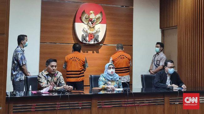Dua mantan pejabat Badan Pertanahan Nasional Kalimantan Barat ditahan di Rutan KPK cabang Gedung Merah Putih dan Rutan KPK cabang Pomda Jaya Guntur.
