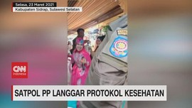 VIDEO: Satpol PP Langgar Protokol Kesehatan