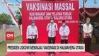 VIDEO: Presiden Jokowi Meninjau Vaksinasi di Halmahera Utara