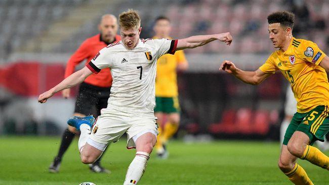 Timnas Belgia tidak akan diperkuat Kevin De Bruyne saat melawan Rusia pada laga perdana Grup B Piala Eropa Euro 2020 (Euro 2021).