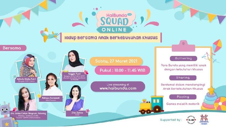 HaiBunda Squad Online Maret 2021