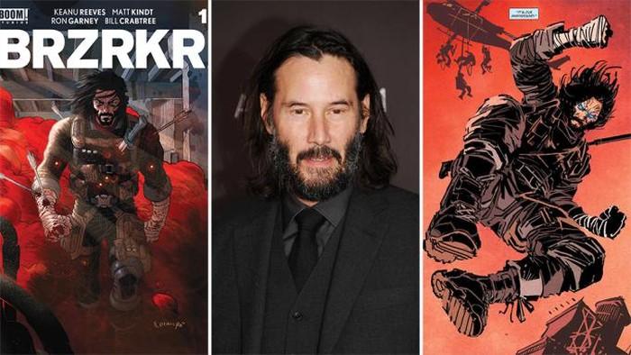 Keanu Reeves Akan Bintangi Adaptasi Buku Komiknya di Netflix!