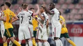 Hasil Kualifikasi Piala Dunia: Belgia Menang 3-1 atas Wales