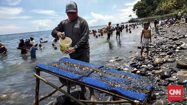 LIPI menyatakan sepanjang wilayah Sumatera hingga Maluku memiliki potensi endapan emas.