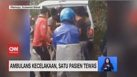 VIDEO: Ambulans Kecelakaan, Satu Pasien Tewas