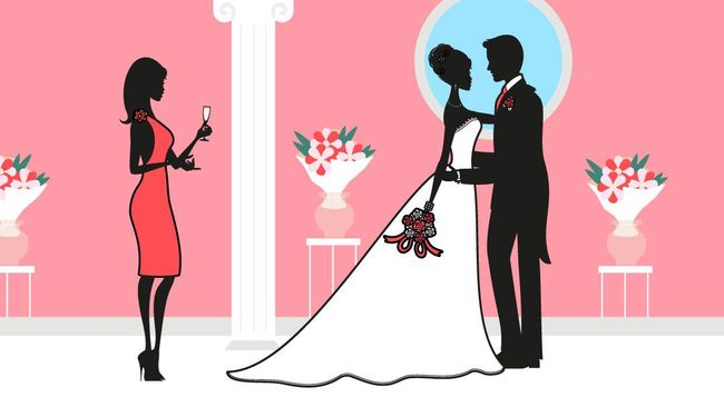 Menghadiri pernikahan seorang sahabat tidak pernah seberat saat dia adalah sosok yang diam-diam saya harap berdampingan di atas pelaminan.