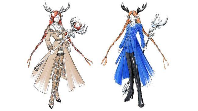 Pengembang game online Honor of Kings berkolaborasi dengan Burberry untuk membuat skin salah satu karakter.