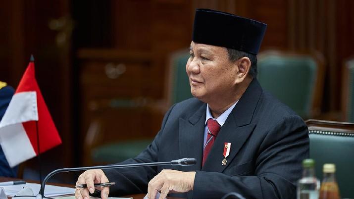 Menteri Pertahanan RI Prabowo Subianto melakukan kunjungan kerja ke London, Inggris, pada 22-24 Maret 2020. Kunjungan dilakukan dalam rangka meningkatkan kerja sama bilateral di bidang pertahanan RI-Inggris. (Dok: Twittwr @mod_russia)