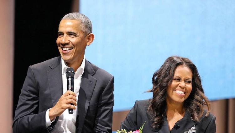 Michelle dan Barrack Obama
