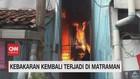 VIDEO: Kebakaran Kembali Terjadi di Matraman