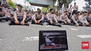 Rizieq Mangkel Eksepsi Tidak Disiarkan Langsung Seperti Jaksa