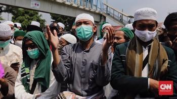 Sidang Vonis, Simpatisan Rizieq Dari Daerah Menuju Jakarta