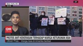 VIDEO: Protes Anti Kekerasan Terhadap Warga Keturunan Asia