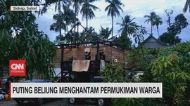 VIDEO: Puting Beliung & Hujan Es Buat Warga Panik