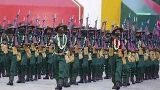 Puluhan Anggota AU Myanmar Membelot hingga Bentrok Palestina